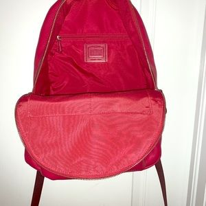 Hot Pink Coach Backpack